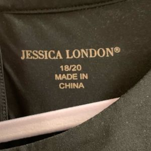 Jessica London Tops - Sleeveless Blouse with side tie